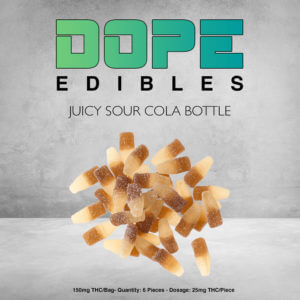Juicy Sour Cola Bottle Dope Edibles