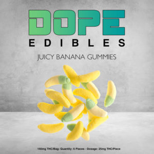 Juicy Banana Dope Edibles