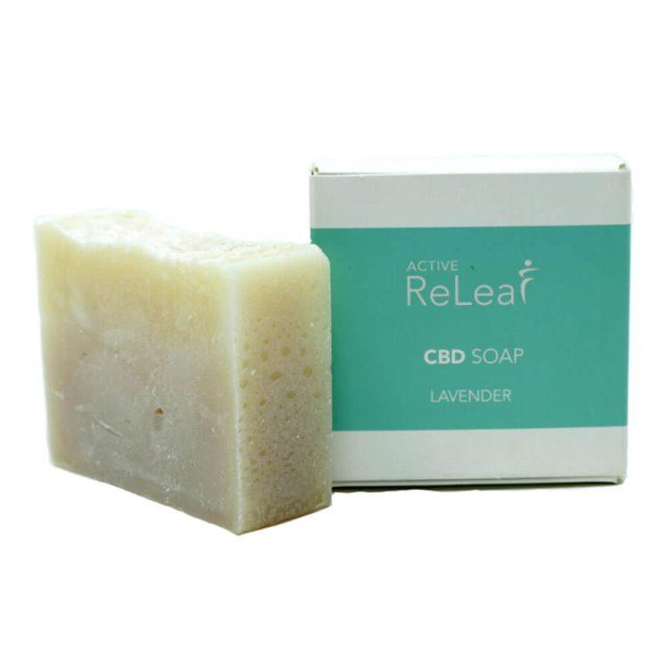 Active Releaf CBD Soap Lavender