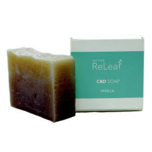 Active Releaf CBD Soap Vanilla