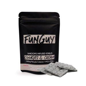 FunGuy – Cookies & Cream 1000mg chocolates