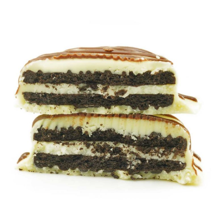 White Chocolate Dipped Oreo Cookies- Get Wrecked Edibles